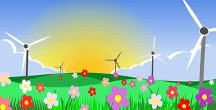 Planète d'écologie Photos libres de droits