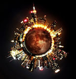 Planète NYC Images stock