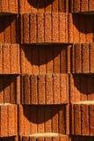 Planter blocks retaining wall. Background, texture Stock Photos