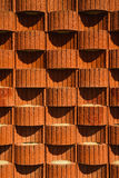 Planter blocks retaining wall. Background, texture Stock Images