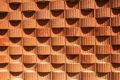 Planter blocks retaining wall. Background, texture Royalty Free Stock Photos