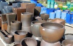 Planter Pots Royalty Free Stock Photography