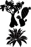 planterar trees Royaltyfri Fotografi