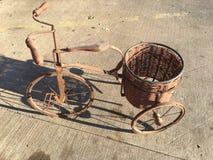 Planters bike/vintage Royalty Free Stock Photography