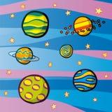 Planètes Images libres de droits