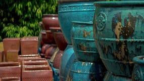 Planteurs et pots photographie stock