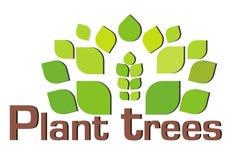 Plantez plus d'arbres Photographie stock libre de droits