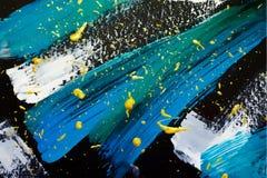 Plantilla abstracta de la pintura stock de ilustración