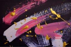 Plantilla abstracta de la pintura libre illustration