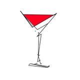 Plantilla abstracta del logotipo de la bebida stock de ilustración