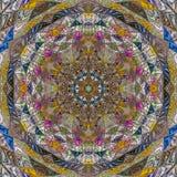 Plantilla abstracta elegante con el triángulo colorido en el fondo blanco para el diseño del papel pintado Diseño del piso Pared  ilustración del vector