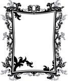 Plantilla adornada del marco de la vendimia stock de ilustración