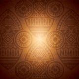 Plantilla africana del diseño del fondo ilustración del vector