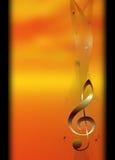 Plantilla básica del tema de la música libre illustration