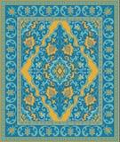 Plantilla colorida para la alfombra stock de ilustración