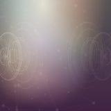 Plantilla conceptual del diseño del vector Extracto Foto de archivo libre de regalías