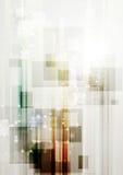 Plantilla de alta tecnología moderna del vector Fotografía de archivo