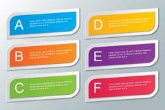 Plantilla de Infographic Imágenes de archivo libres de regalías