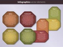 Plantilla de Infographic Imagen de archivo libre de regalías