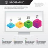 Plantilla de Infographics Imagen de archivo
