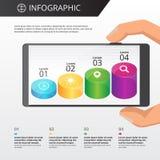 Plantilla de Infographics Imagen de archivo libre de regalías