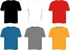 Plantilla de la camiseta ilustración del vector