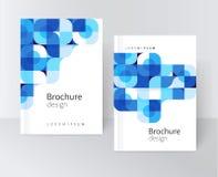 plantilla de la cubierta para el cartel del folleto del informe del catálogo Imagen de archivo libre de regalías