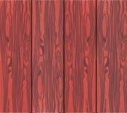Plantilla de madera de la textura Madera roja Imagen de archivo libre de regalías