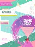 Plantilla de moda del folleto stock de ilustración
