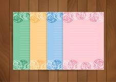 Plantilla de papel del diseño Imágenes de archivo libres de regalías