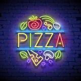 Plantilla de Singboard de la pizza Imágenes de archivo libres de regalías