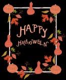 Plantilla del cartel de Halloween Ilustración del vector foto de archivo libre de regalías