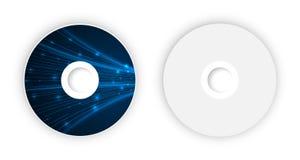 Plantilla del CD del vector Fotos de archivo libres de regalías