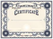 Plantilla del certificado o del diploma Ilustración del Vector
