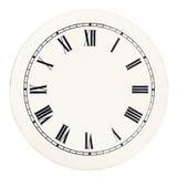 Plantilla del dial de reloj del vintage Imagenes de archivo
