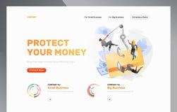 Plantilla del diseño del ataque del phishing de la tarjeta de banco libre illustration