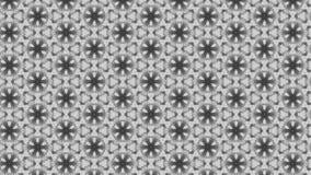 Plantilla del diseño de Gray Geometric Ornament Wallpaper Pattern ilustración del vector