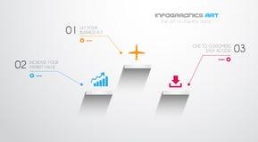Plantilla del diseño de Infographic ilustración del vector