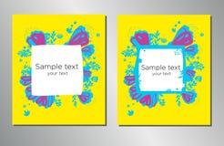 Plantilla del diseño de la cubierta de libro Puede ser adaptado al folleto, informe anual, revista, cartel, presentación corporat stock de ilustración