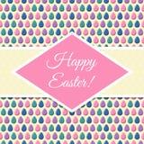 Plantilla del diseño de Pascua Imagen de archivo