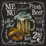 Plantilla del diseño del logotipo del vector de la barra de la cerveza alcohólico libre illustration