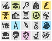 Plantilla del diseño del logotipo del vector de la escuela ilustración del vector