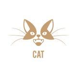 Plantilla del diseño del logotipo del vector para las tiendas de animales Fotos de archivo libres de regalías