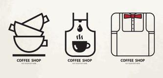 Plantilla del diseño del logotipo Icono caliente del concepto del logotipo de la taza de las bebidas Imágenes de archivo libres de regalías