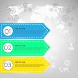 Plantilla del diseño del vector de Infographics Stock de ilustración