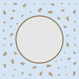 Plantilla del diseño del vector de la cubierta del menú del helado del restaurante Fotos de archivo libres de regalías