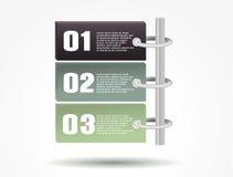 Plantilla del diseño moderno Fotografía de archivo libre de regalías