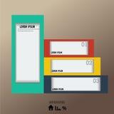 Plantilla del diseño moderno Imágenes de archivo libres de regalías