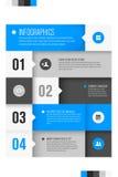 Plantilla del diseño moderno para el infographics