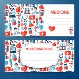 Plantilla del diseño para el icono médico Fotos de archivo libres de regalías